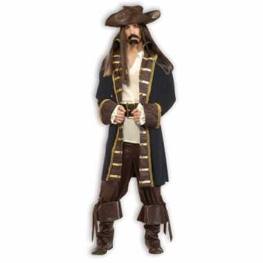 Luxe piraat carnavalskleding jack