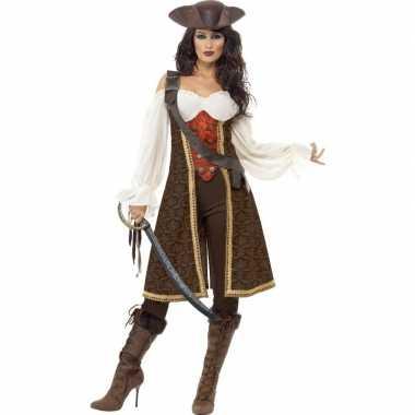 Luxe piraten carnavalskleding voor dames