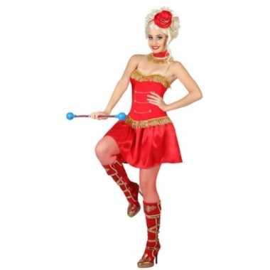 Majorette carnavalskleding voor dames