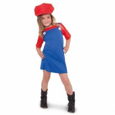 Mario meisjes carnavalskleding