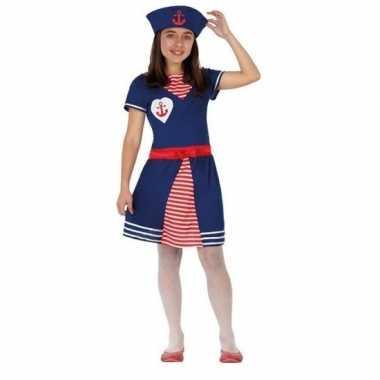 Matrozen jurkje/carnavalskleding voor meisjes