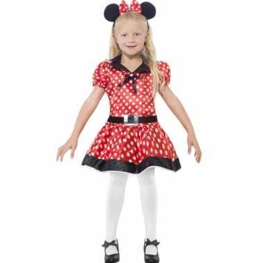 Meisjes meisjes muis carnavalskleding
