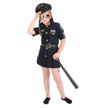 Meisjes politie jurk carnavalskleding