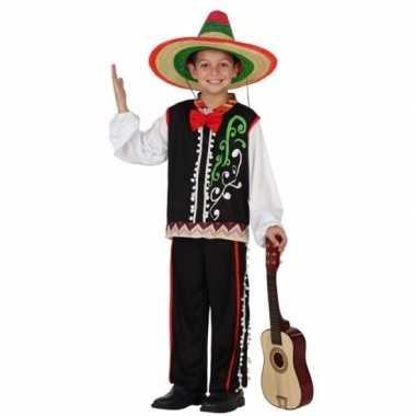 Mexicaanse senor carnavalskleding voor jongens