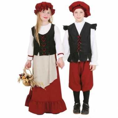 Middeleeuws meisjes carnavalskleding