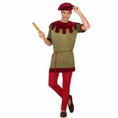 Middeleeuws page carnavalskleding voor heren