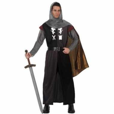 Middeleeuws ridder carnavalskleding voor heren