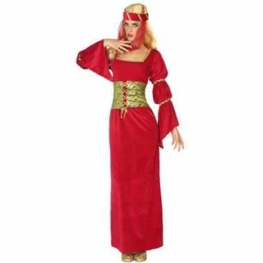Middeleeuwse prinses/jonkvrouw carnavalskleding voor dames