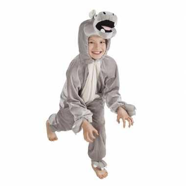 Nijlpaard carnavalskleding voor kinderen