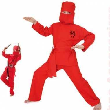 Ninja carnavalskleding voor kinderen
