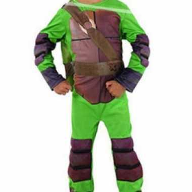 Ninja turtle carnavalskleding voor jongens