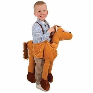 Paarden instap carnavalskleding voor kids