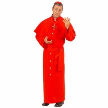 Paus carnavalskleding rood