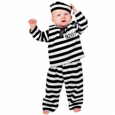 Peuter en baby carnavalskleding boef