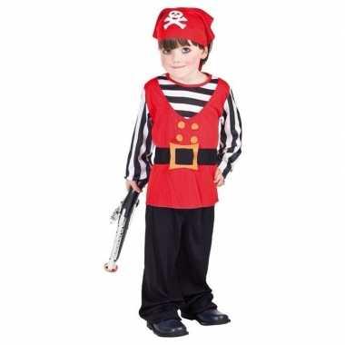 Peuter piraten carnavalskleding