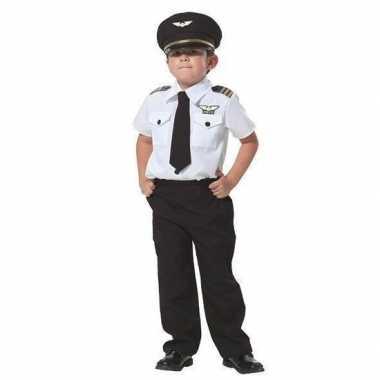 Piloot carnavalskleding voor jongens