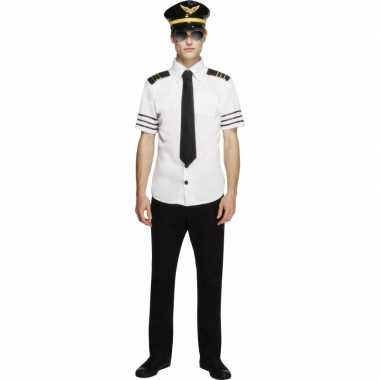 Piloten carnavalskleding heren
