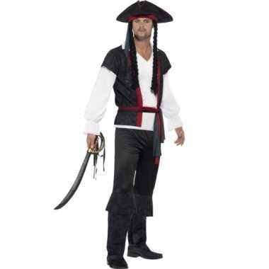 Piraat carnavalskleding voor heren