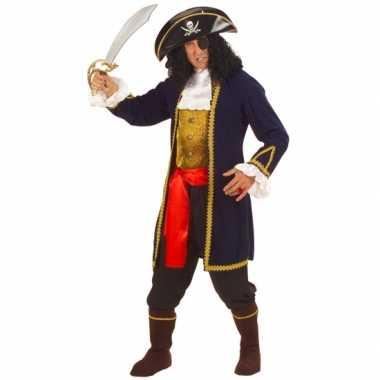 Piraat carnavalskleding voor volwassenen