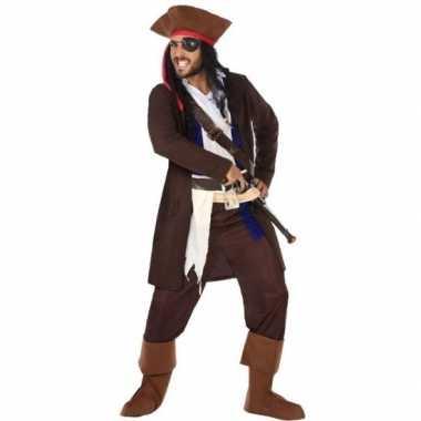 Piraat christopher pak/carnavalskleding voor heren