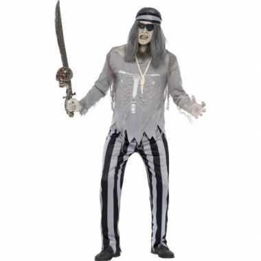Piraat geest carnavalskleding voor heren