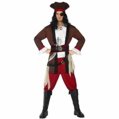 Piraat henry pak/carnavalskleding voor volwassenen