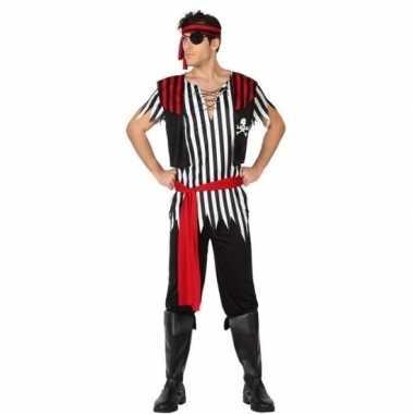 Piraat jack pak/carnavalskleding voor heren