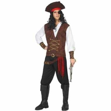 Piraat lewis pak/carnavalskleding voor volwassenen