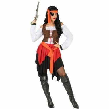 Piraat mary pak/carnavalskleding voor dames