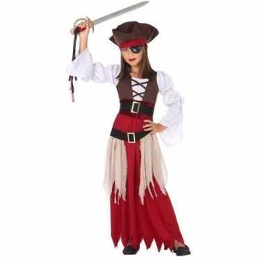 Piraten carnavalskleding/jurk voor meisjes