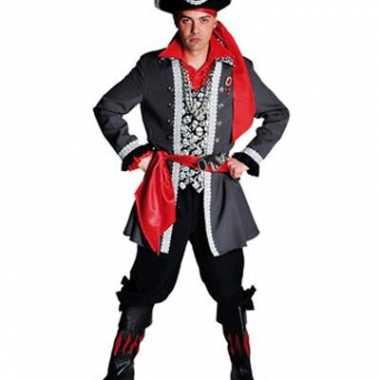 Piraten carnavalskleding luxe voor heren