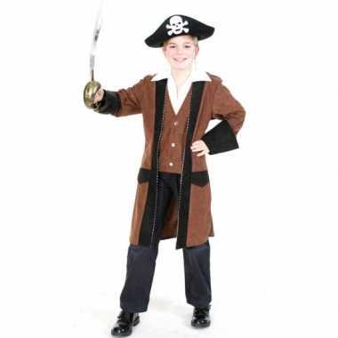 Piraten carnavalskleding met wit overhemd