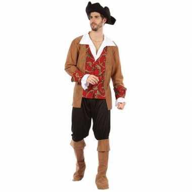 Piraten carnavalskleding voor heren 10064701