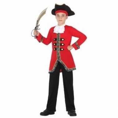 Piraten carnavalskleding voor jongens