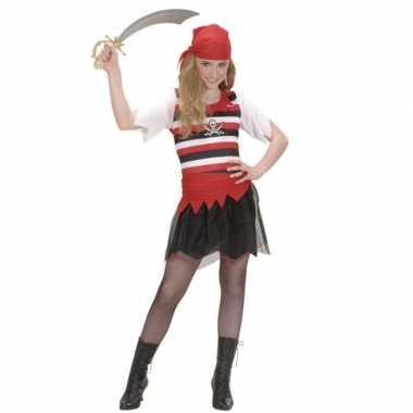 Piraten carnavalskleding voor meisjes
