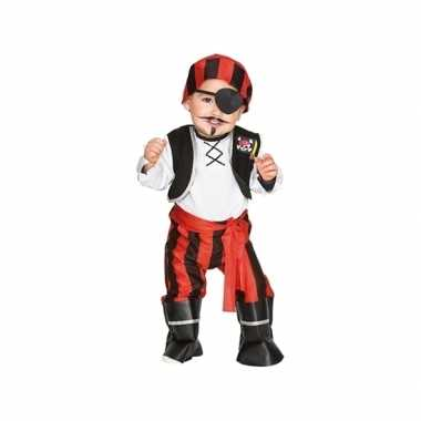 Piraten carnavalskleding voor peuters