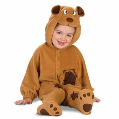 Pluche beren carnavalskleding voor babys