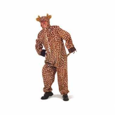 Pluche giraffe carnavalskleding