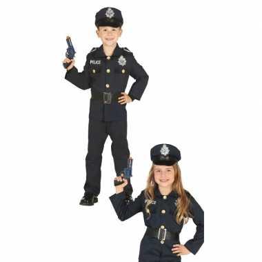 Politie agent carnavalskleding voor jongens/meisjes