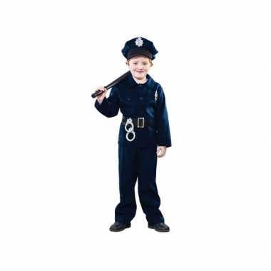 Politie agent carnavalskleding voor kinderen