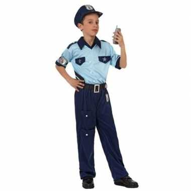 Politie agent pak / carnavalskleding voor jongens