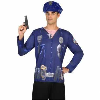 Politie carnavalskleding voor heren