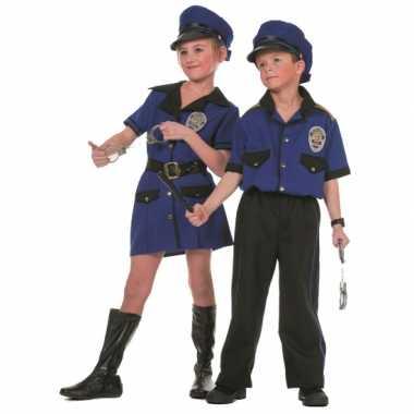 Politie carnavalskleding voor meiden
