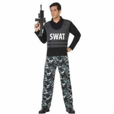 Politie swat pak/carnavalskleding voor volwassenen