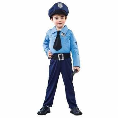 Politieman carnavalskleding voor jongens