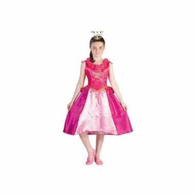 Prinsessia carnavalskleding roze