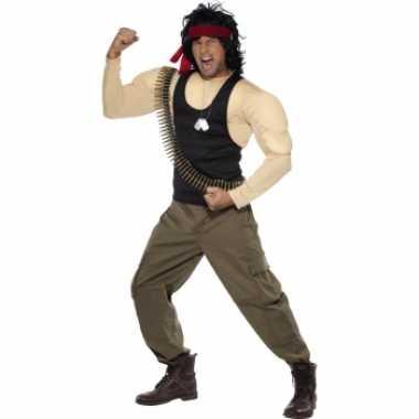 Rambo carnavalskleding voor heren