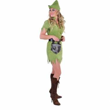Robin hood carnavalskleding voor vrouwen