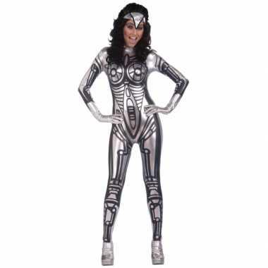 Robot carnavalskleding carnavalskleding voor dames