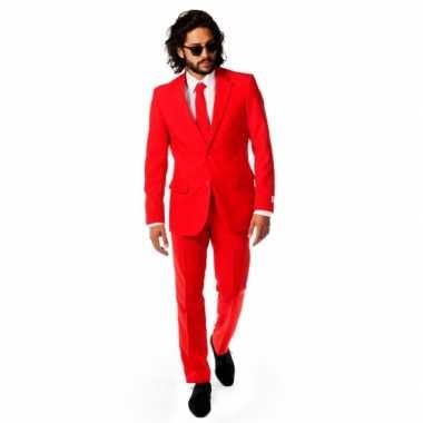 Rode carnavalskleding voor heren